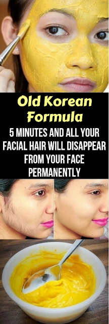 Korean Formula 5 Minutes and All Your Facial Hair Will Disappear From Your Face Permanently Old Korean Formula 5 Minutes and All Your Facial Hair Will Disappear From Your Face PermanentlyOld Korean Formula 5 Minutes and All Your Facial Hair Will Disappear From Your Face Permanently