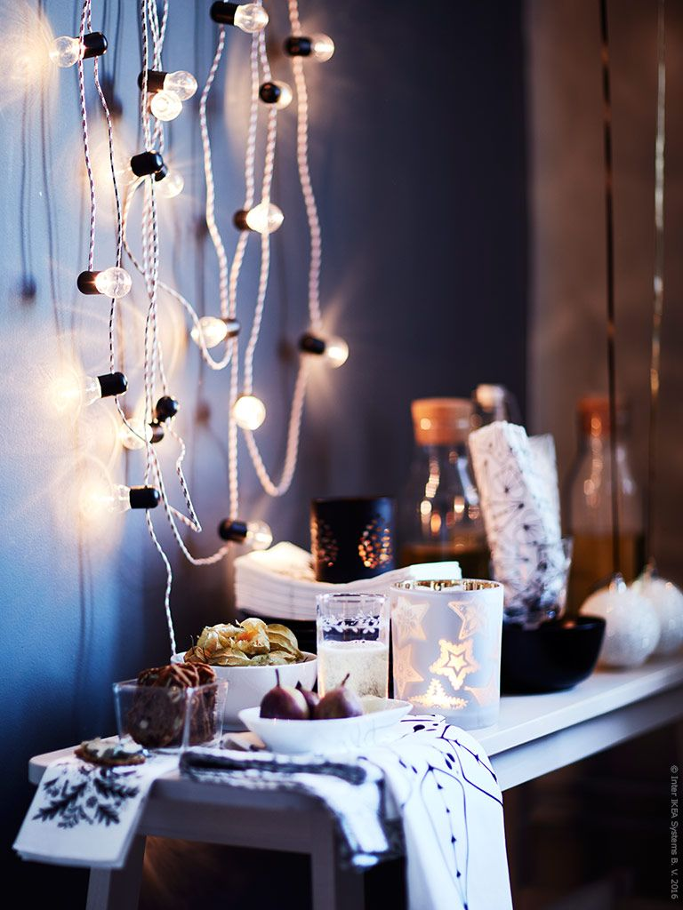 vinter 2016 kollektionen och str la led ljusslinga. Black Bedroom Furniture Sets. Home Design Ideas