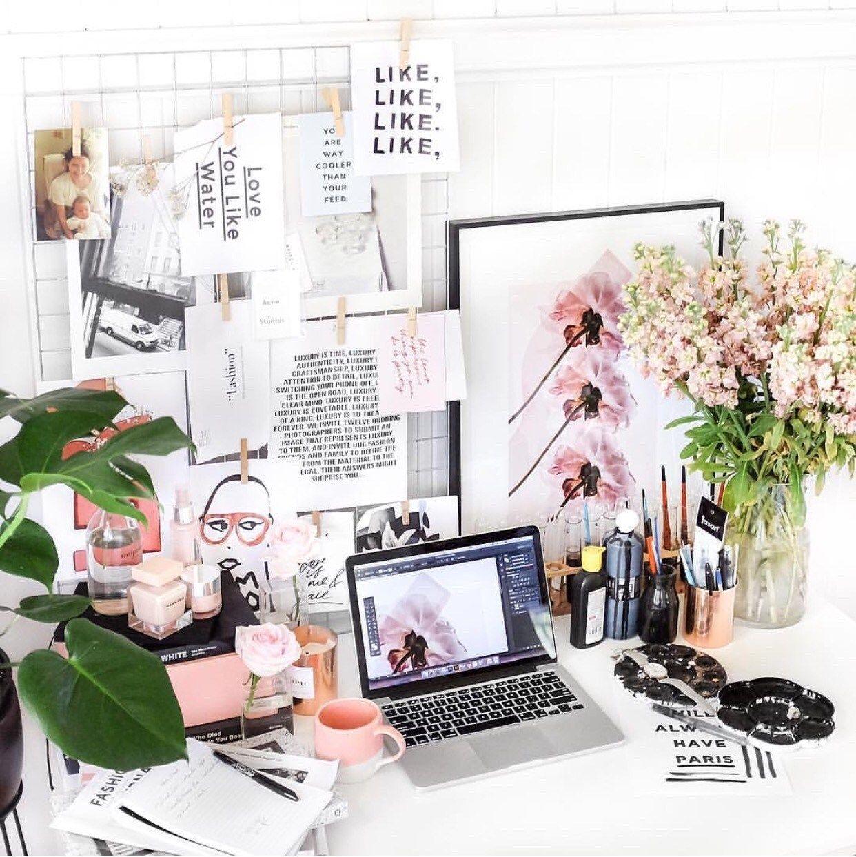 Office Decor, Workspace Inspiration, Creative