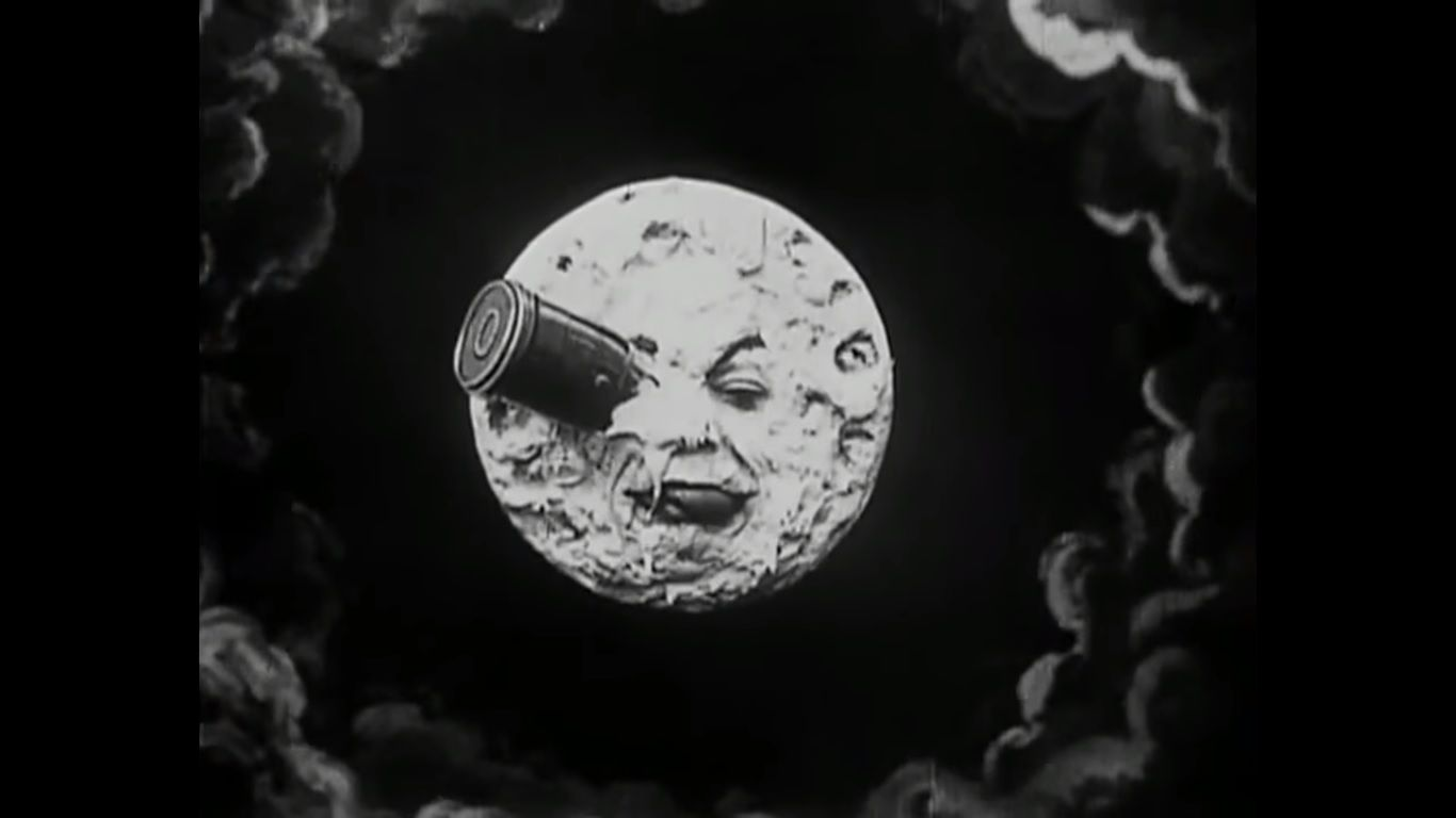 a trip to the moon.