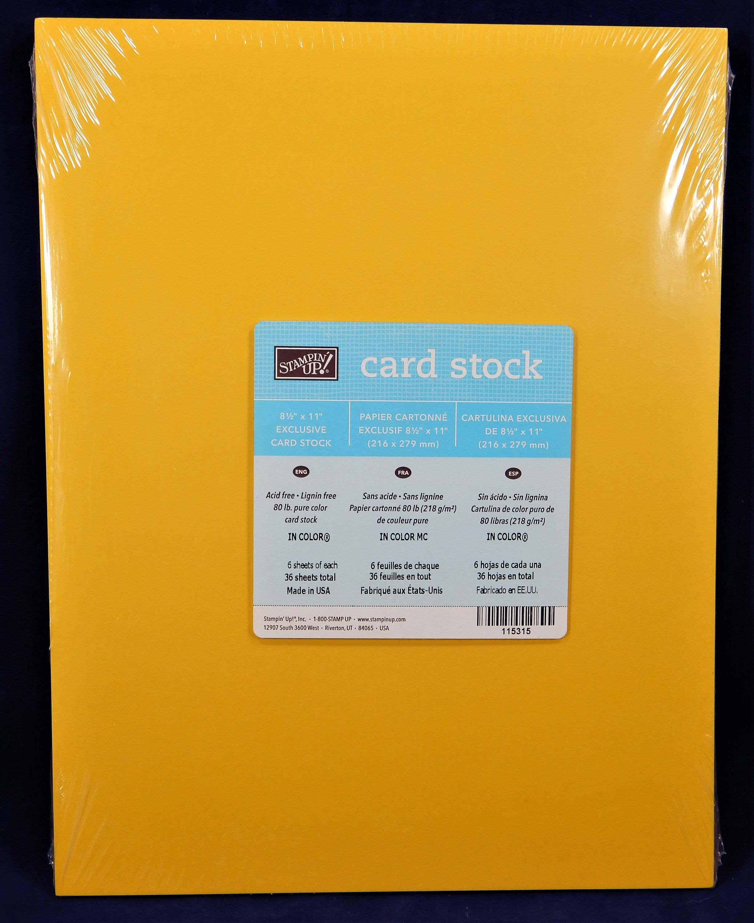 Stampin Up In Color Card Stock Paper Etsy Color Card Cardstock Paper Stampin Up
