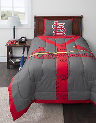 St Louis Cardinals Sleeping Bag Twin Comforter Sets Comforter