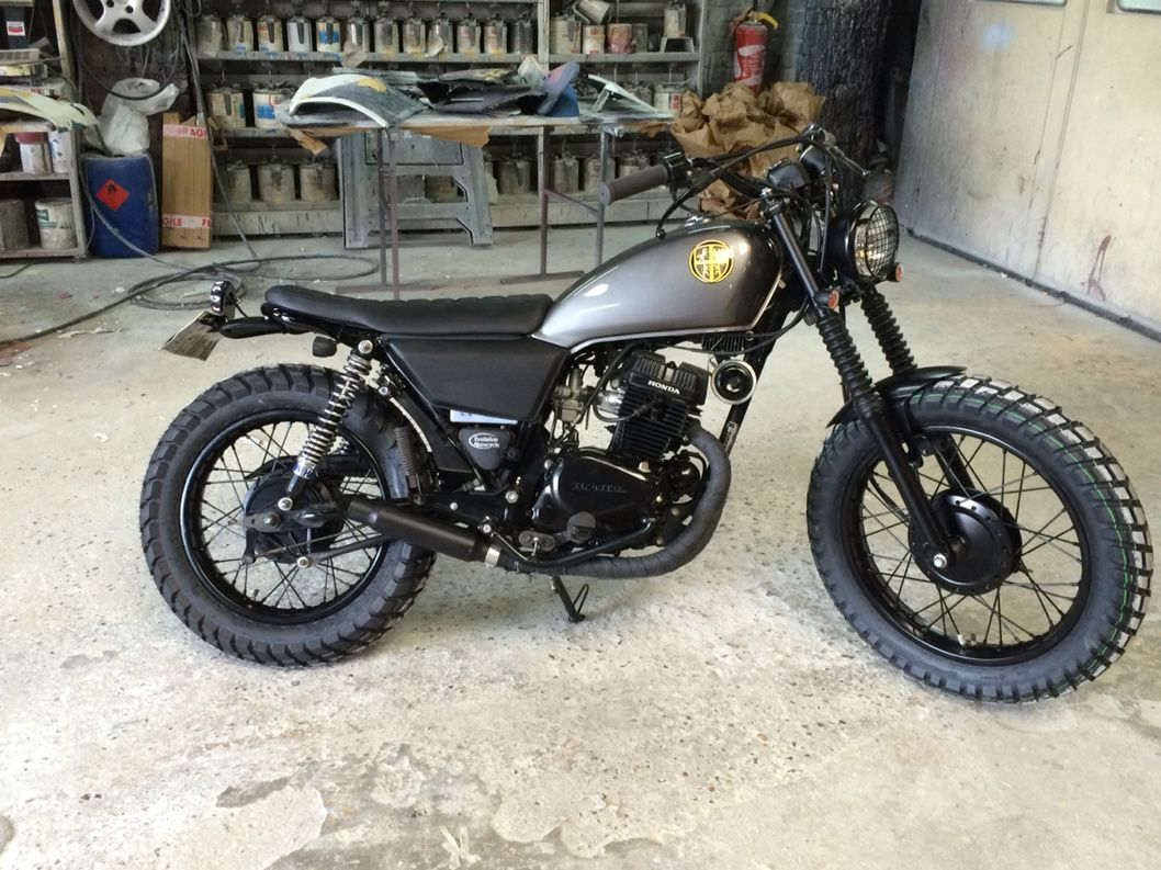 honda cm 125 scrambler caferacers pinterest. Black Bedroom Furniture Sets. Home Design Ideas