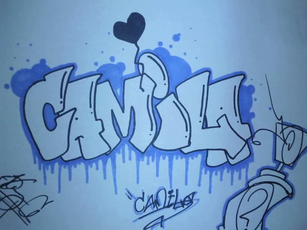 Resultado De Imagen Para Graffitis Camila Graffitis Nombres
