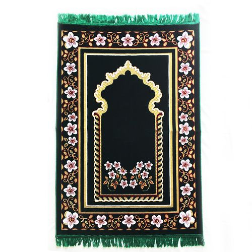 Ic Prayer Rug Plush Velvet Janamaz