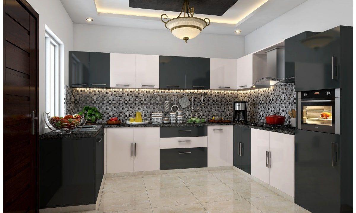 Shop for Yin Yang U-Shape Modular Kitchen online in India ...