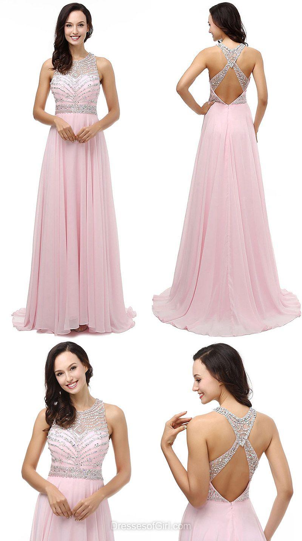 fe931944c Pink Formal Dresses