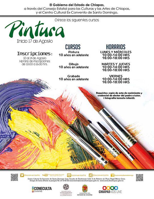 Curso de pintura, dibujo y Grabado