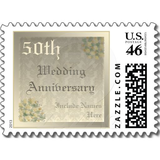 Champagne Roses Wedding Anniversary Postage Rose Wedding Wedding Anniversary Wedding Shop