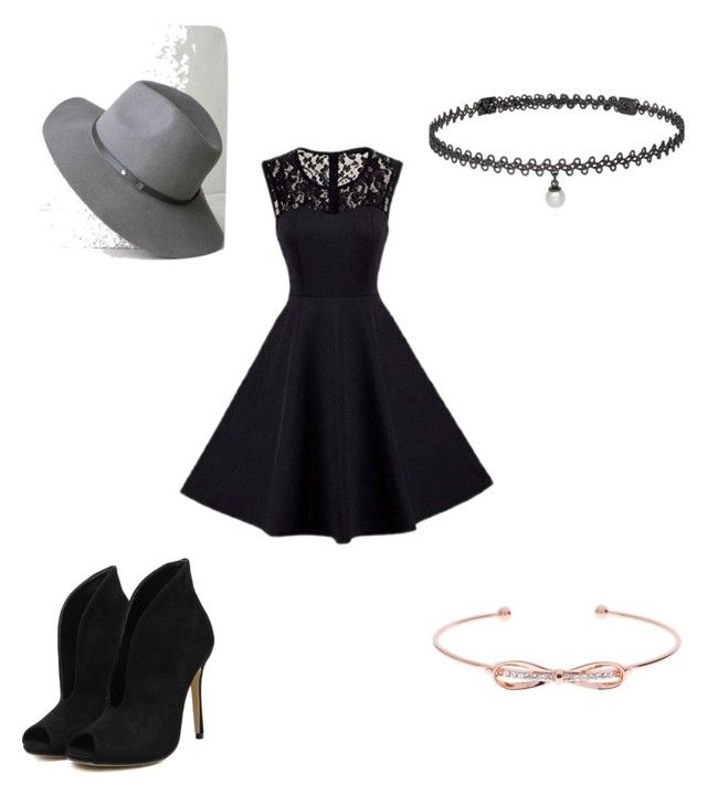 """The Date"" by elladum on Polyvore featuring LULUS, Ted Baker and BERRICLE"