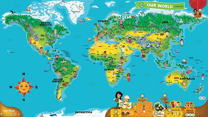 Leapreader interactive world map tour the world with this leapreader interactive world map tour the world with this introduction to global geography gumiabroncs Image collections