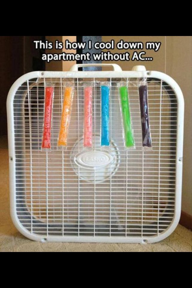 Air Conditioner Homemade Air Conditioner Hvac Humor Air Conditioning Humor