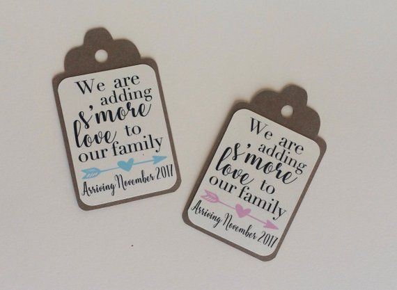 Download We are adding Smore Love to our family Favor Tags, Set of ...