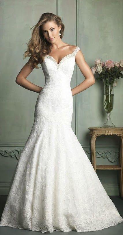 Drop-Dead Gorgeous Allure Bridals Wedding Dresses  4d34fcf6d5b