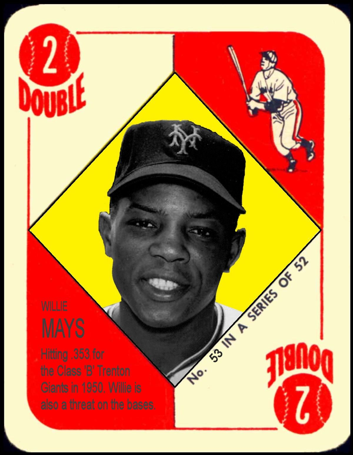 1951 Topps Willie Mays
