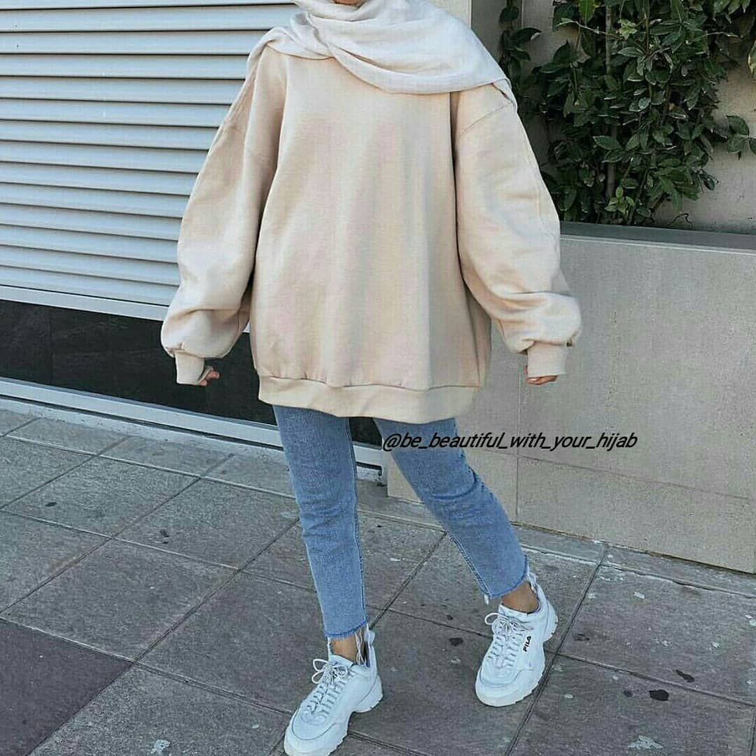 8 best hijab outfit @be_beautiful_with_your_hijab on Instagram