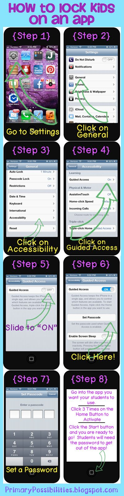 Step by step on how to lock your kids into apps on your iphoneipad step by step on how to lock your kids into apps on your iphoneipadipods no more getting into things they are supposed to be in fandeluxe Gallery