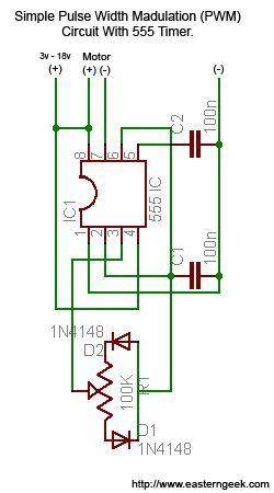 Simple and dirty pulse width modulation pwm with 555 timer sciox Image collections