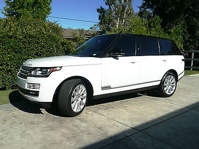 cool 2014 Land Rover Range Rover Supercharged Sport Utility 4-Door - For Sale