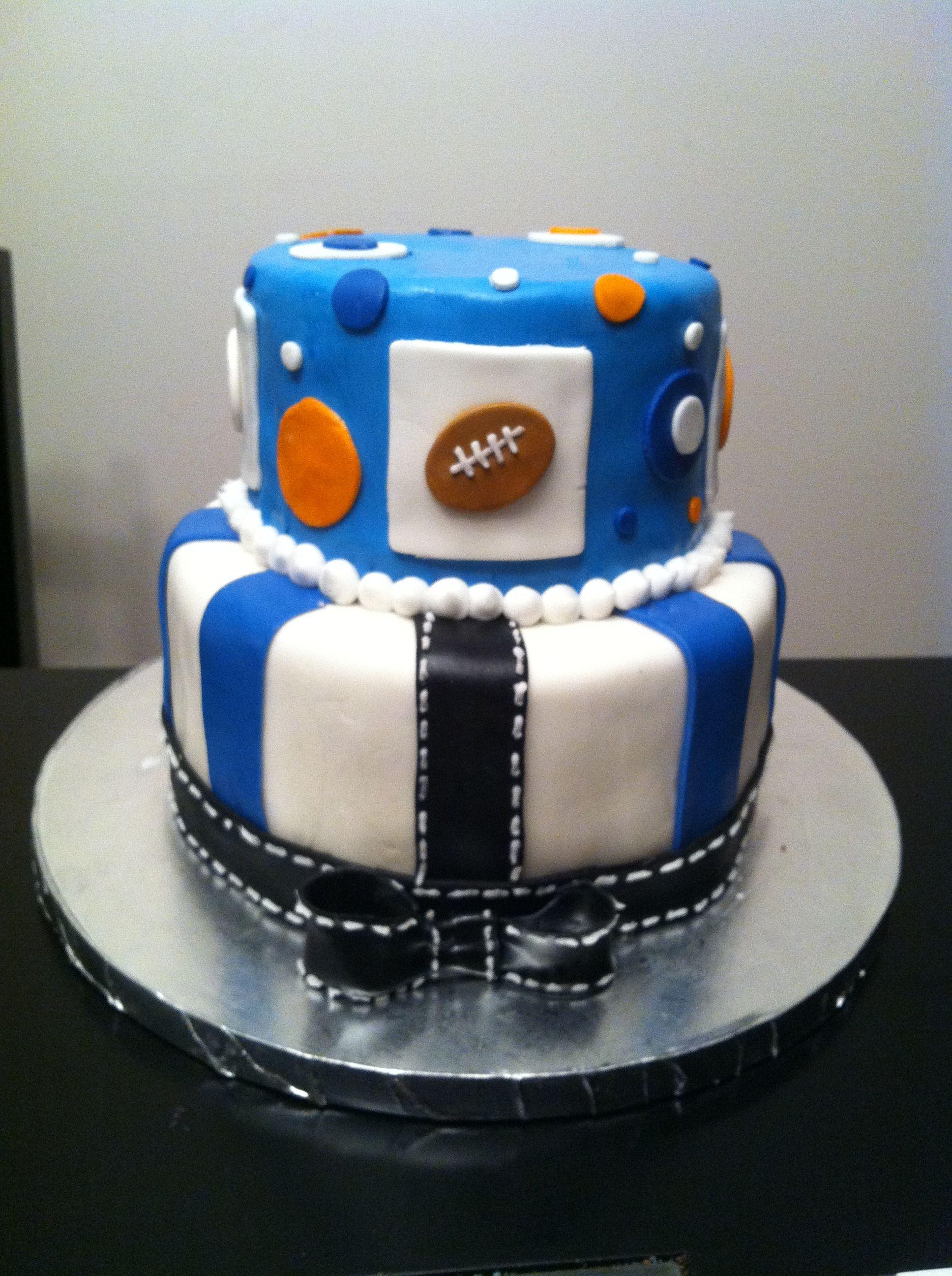 sports baby shower theme cake cakes pinterest