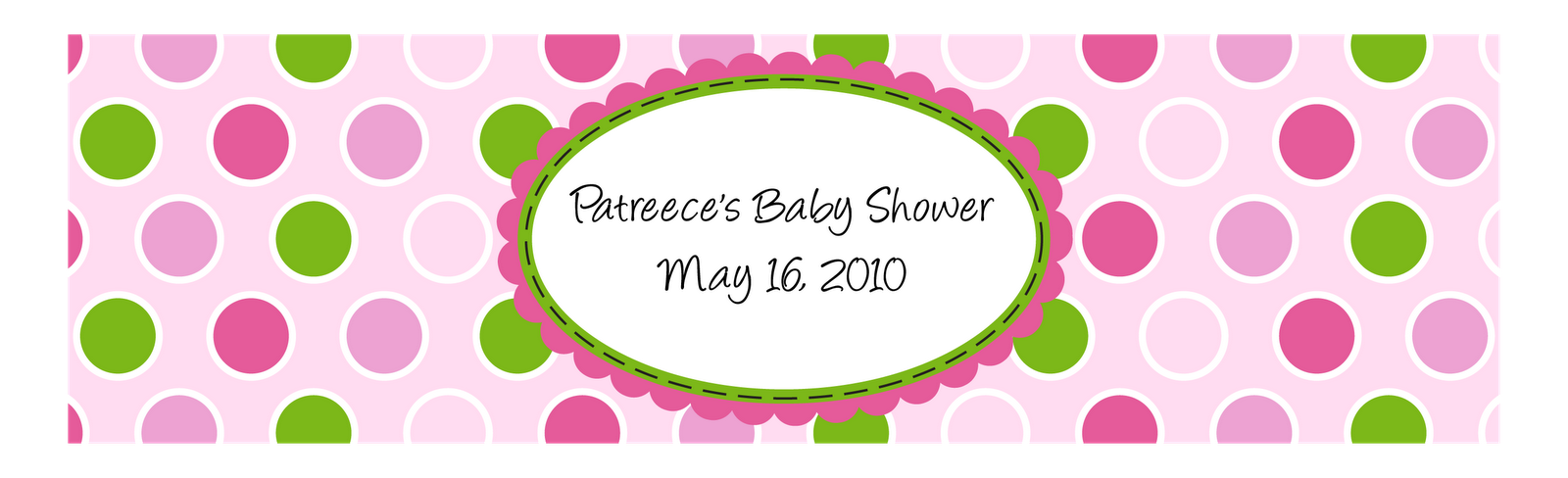 baby shower water bottle labels free template | ... to facebook ...
