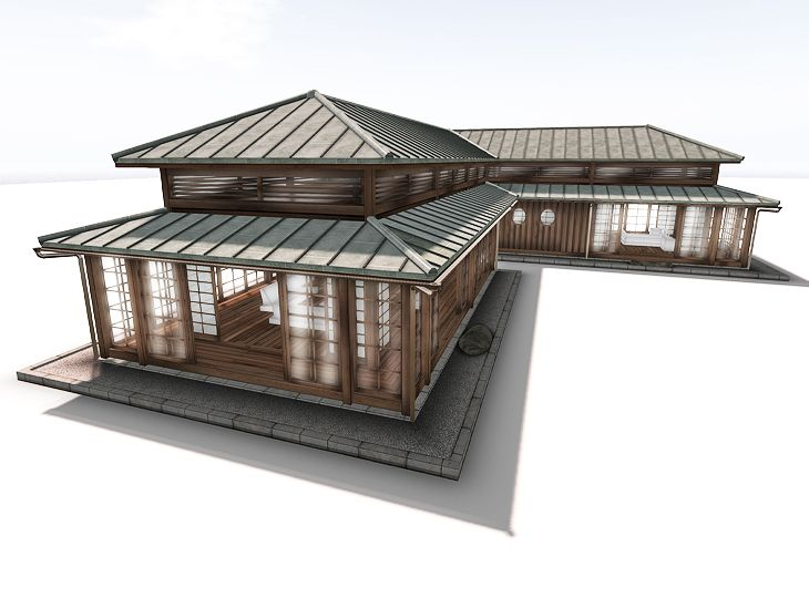 Prefab Modular Japanese Country House Zenkei Japanese Style House Traditional Japanese House Japanese House