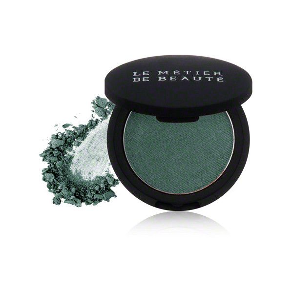 Le Metier de Beaute Le Metier de Beaute True Colour Eye Shadow - Jade ($30) ❤ liked on Polyvore featuring beauty products, makeup, eye makeup, eyeshadow and le metier de beaute eyeshadow