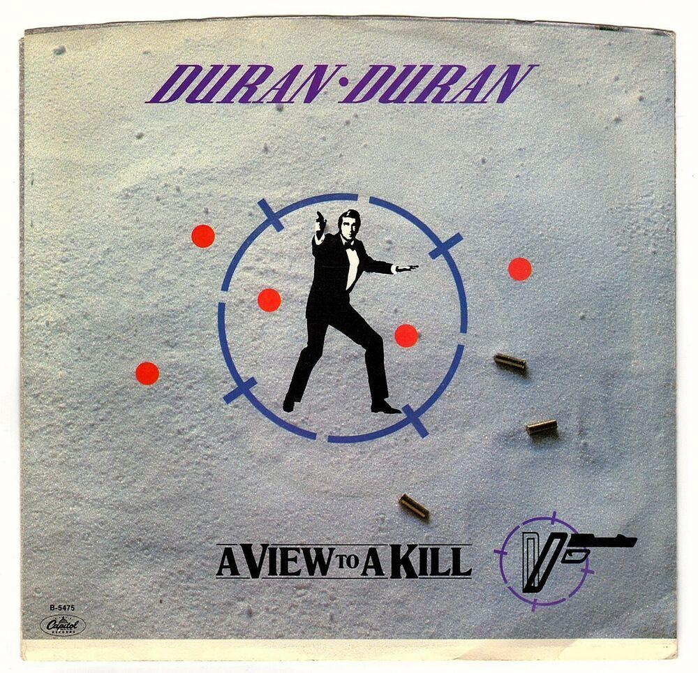 Duran Duran A View To A Kill 7 Vinyl Record Lp James Bond