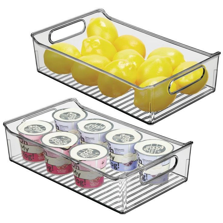 Large Plastic Kitchen Pantry Food Storage Bin      storagebins #foodstorage #storagesolutions #kitchenstorage #kitchenpantrycabinets #storageboxes #storagetubs #shedstoragesolutions #largepantryideas