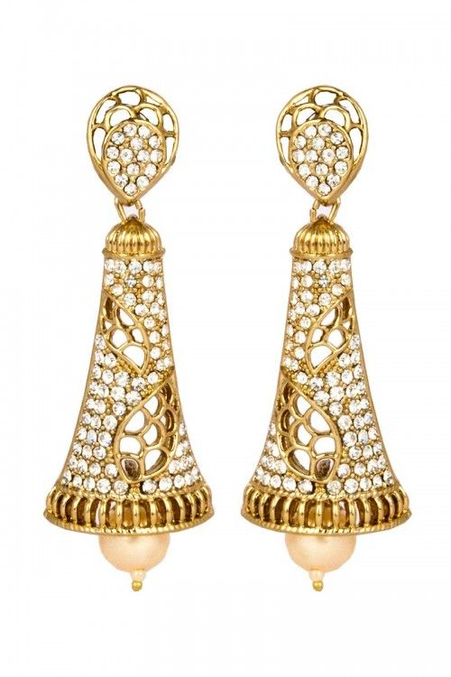 Shop for Latest Designer Party wear Indian Jhumki online at