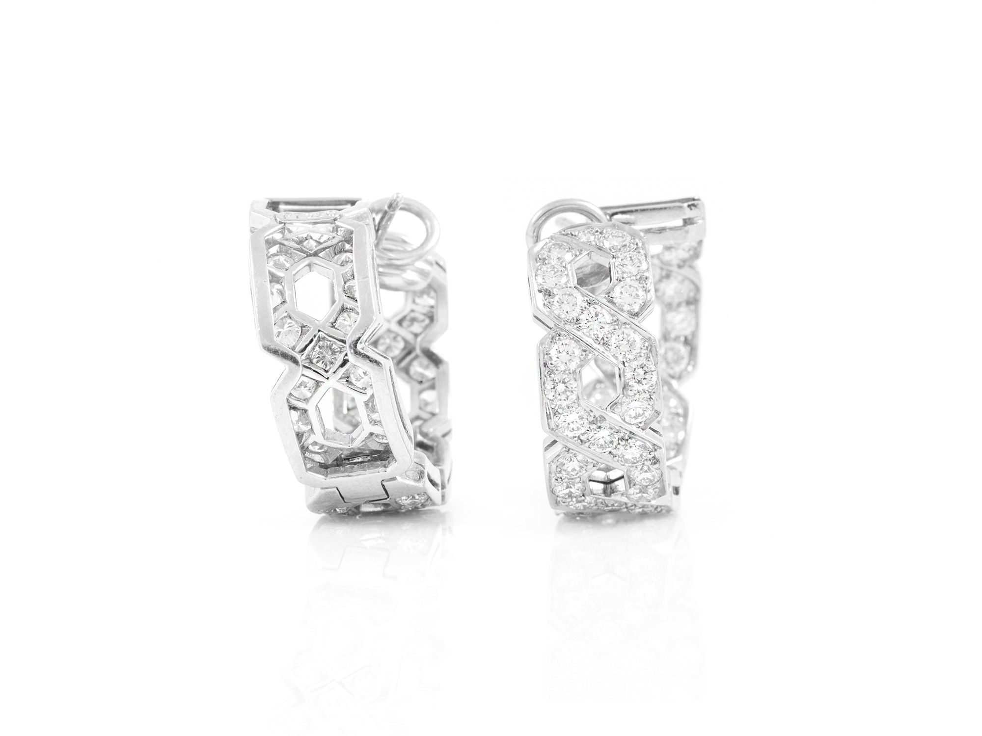 platinum products box original earrings victoria co tiffany small diamond
