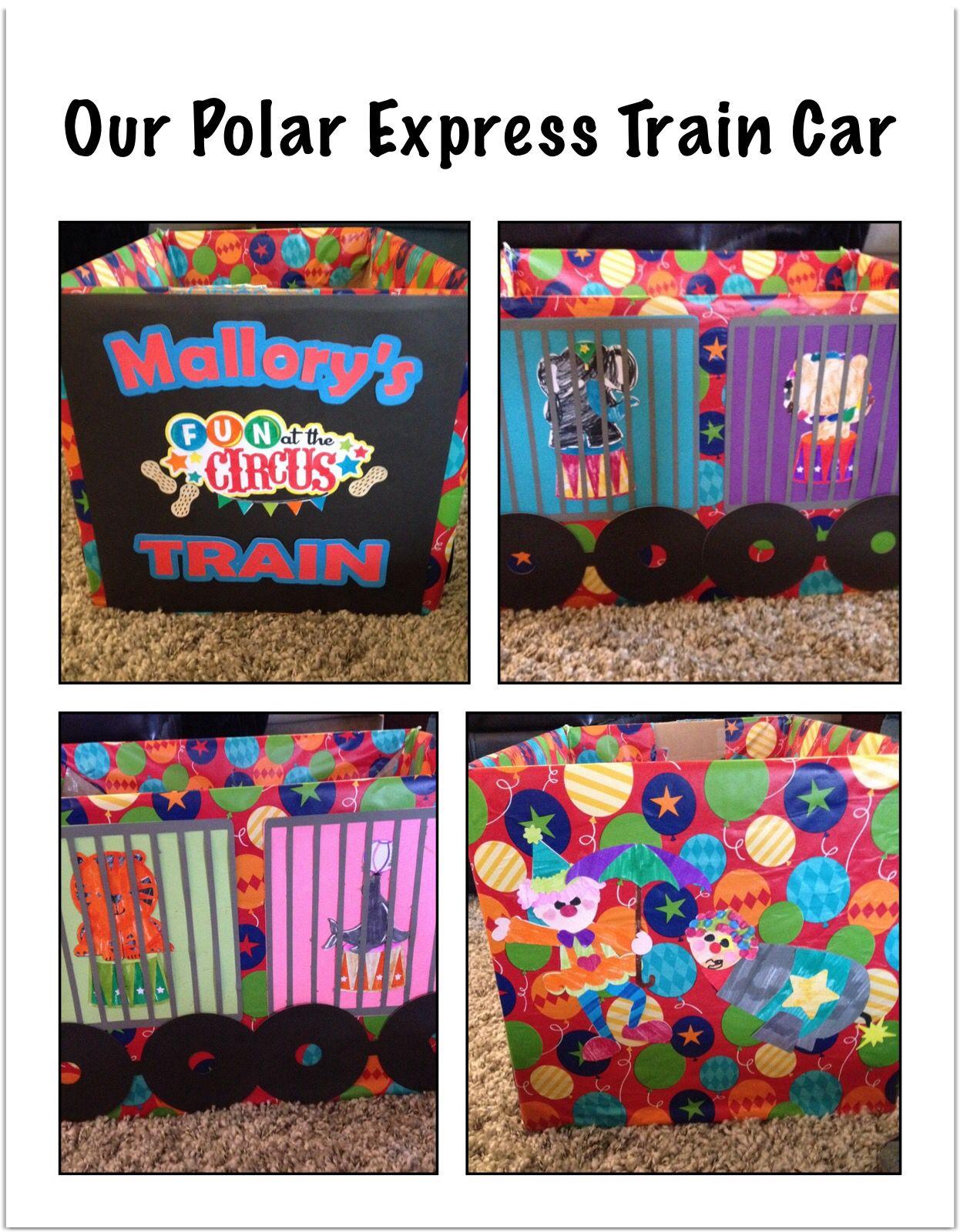 Our Preschool Polar Express Train Car The Circus Train