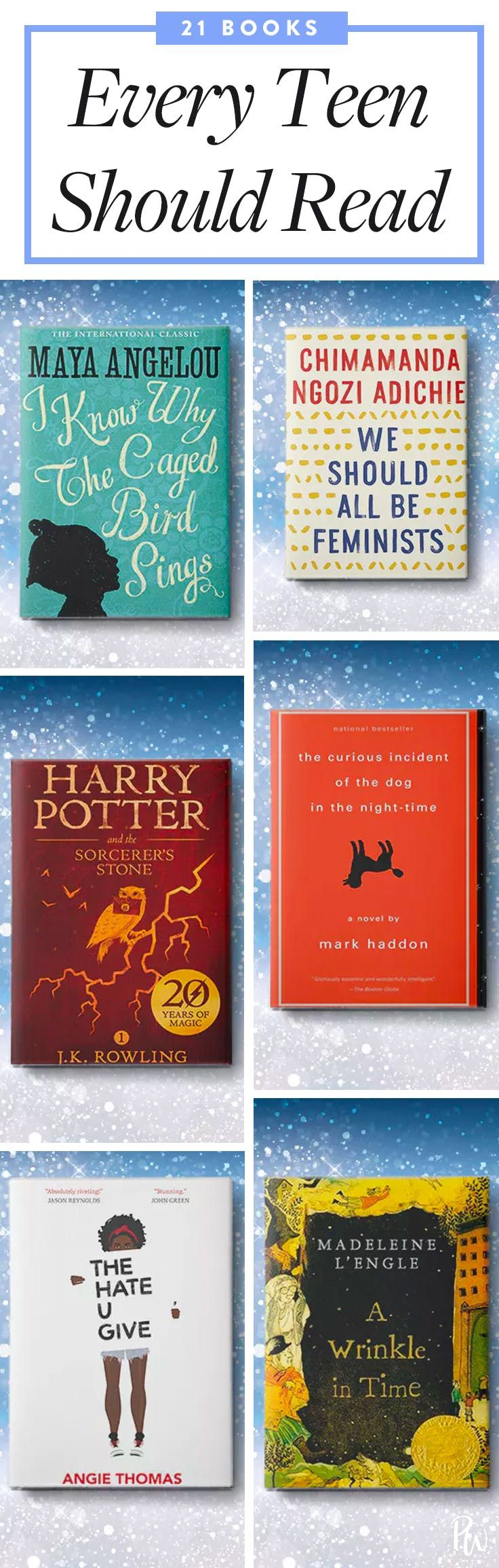 21 Books Every Teenager Should Read Books For Teens Teens Reading Good Books