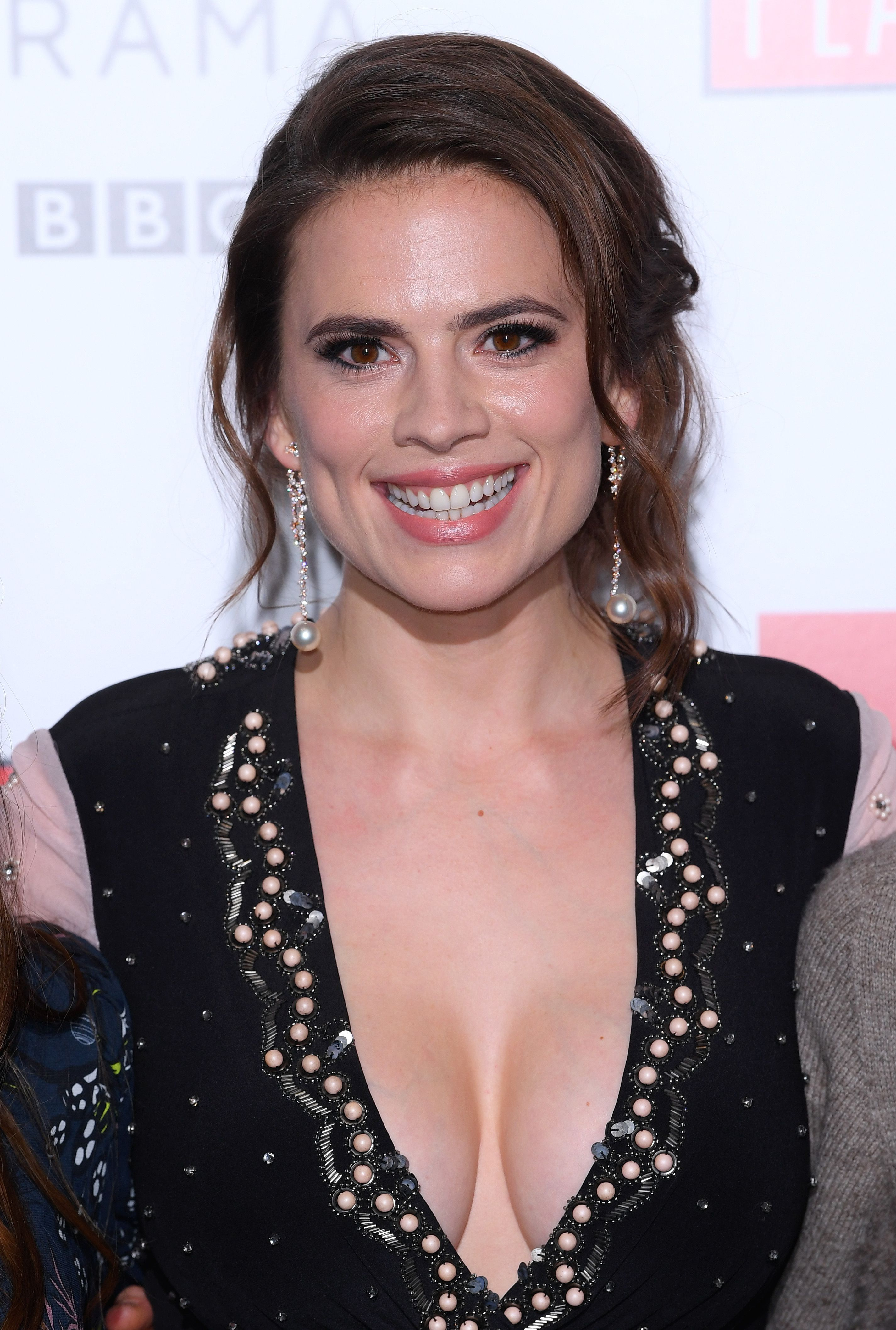 Hayley Atwell (born 1982 (dual British and American citizenship)
