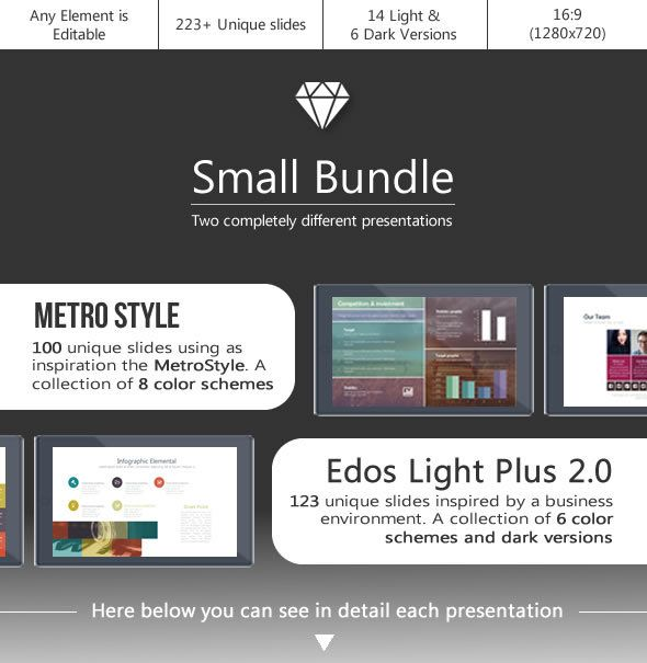 Small bundle powerpoint template pinterest metro style small bundle powerpoint template toneelgroepblik Gallery