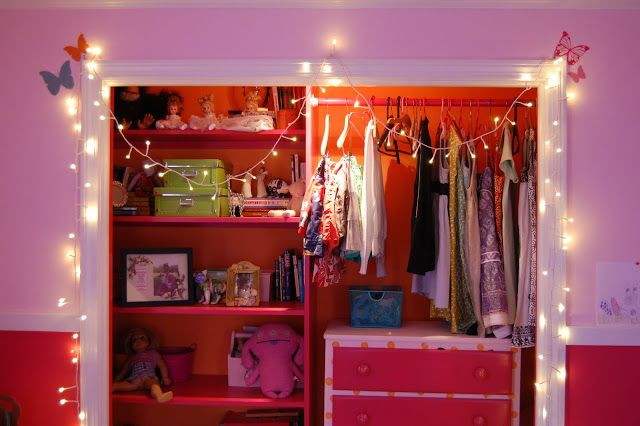 Charmant Doorless Closet