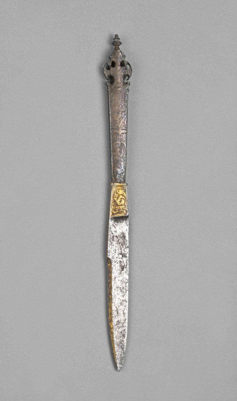 Flemish Knife 16th Century Knife Dagger Knife Bronze