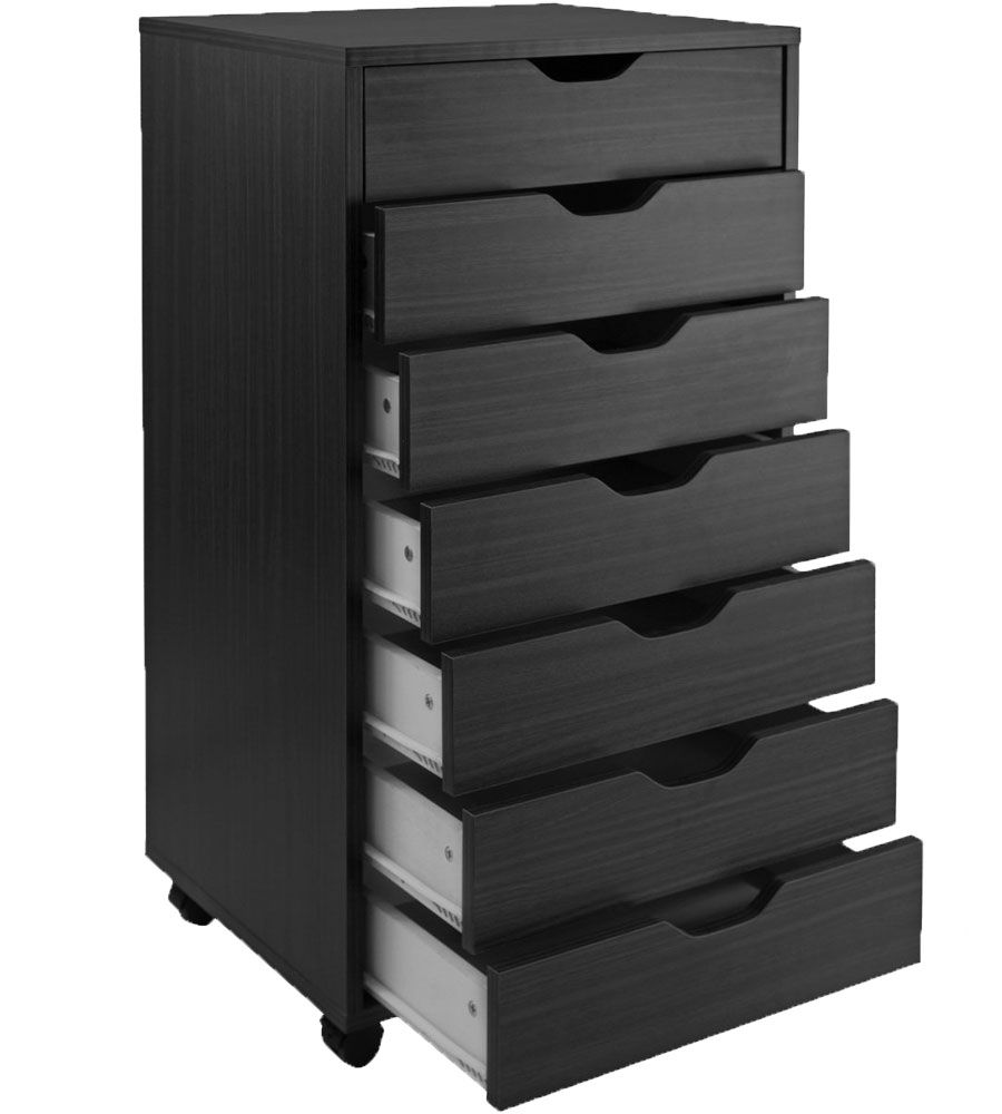 The 7 Drawer Storage Cart Creates Extra Storage Space That Your Home Studio  Or Office Desires
