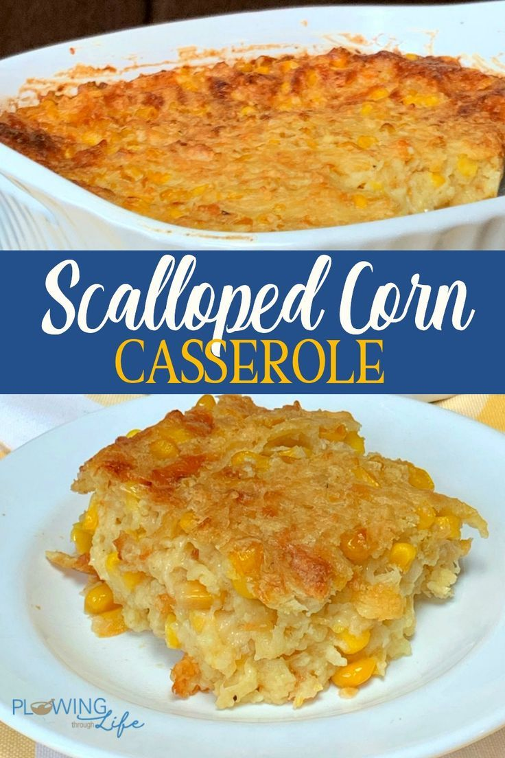 Scalloped Corn Country Style