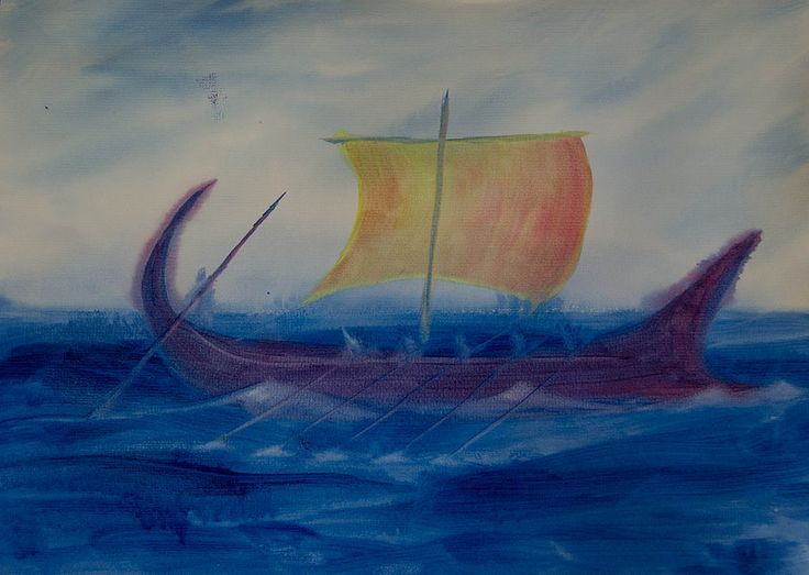 Ancient History Painting -