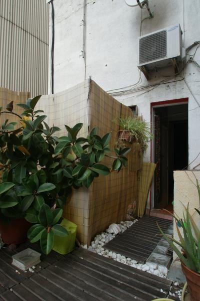 Studio Penthouse With A Terrace Near Sagrada Familia Barcelona Alquiler Vivienda Terraza Patios