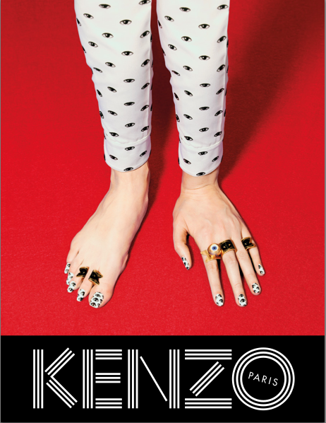 Kenzo Autumn/Winter 2013 campaign, in collaboration with Maurizio Cattelan, Pierpaolo Ferrari and Micol Talso of Toilet Paper #AW13