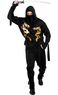 ninja costumes for kids adults party city - All Halloween Costumes Party City