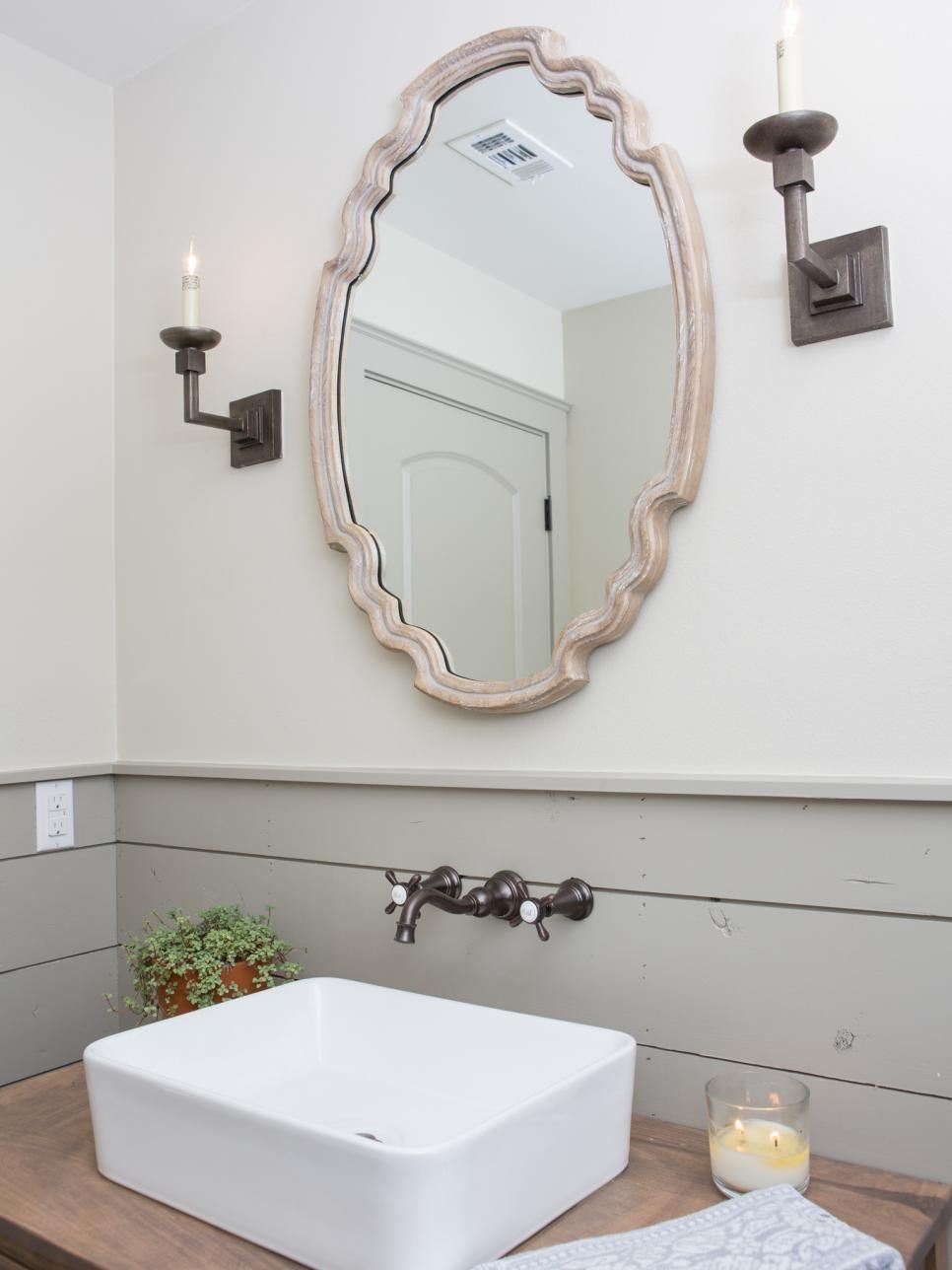 Fixer Upper A Rustic Italian Dream Home Farmhouse BathroomsVintage