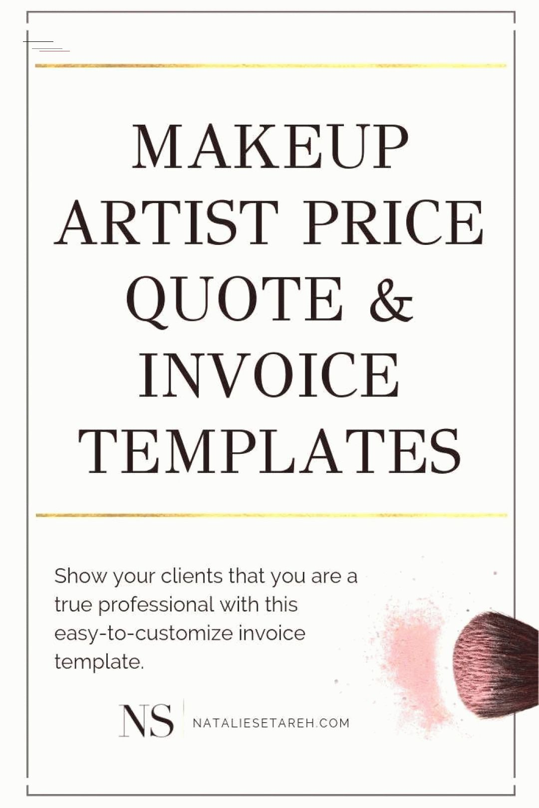 As a makeup artist you want to show your clients that you