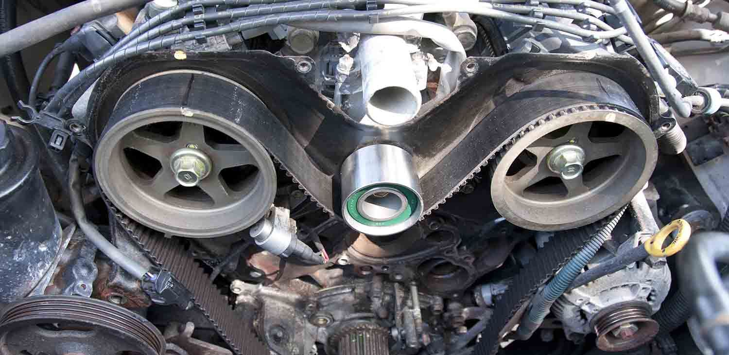 Interference and noninterference timing belt or chain in