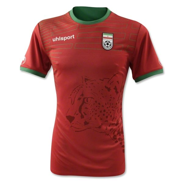 on sale 5c430 5f931 Iran 2014 World Cup Uhlsport Away Shirt (Official)   2014 ...