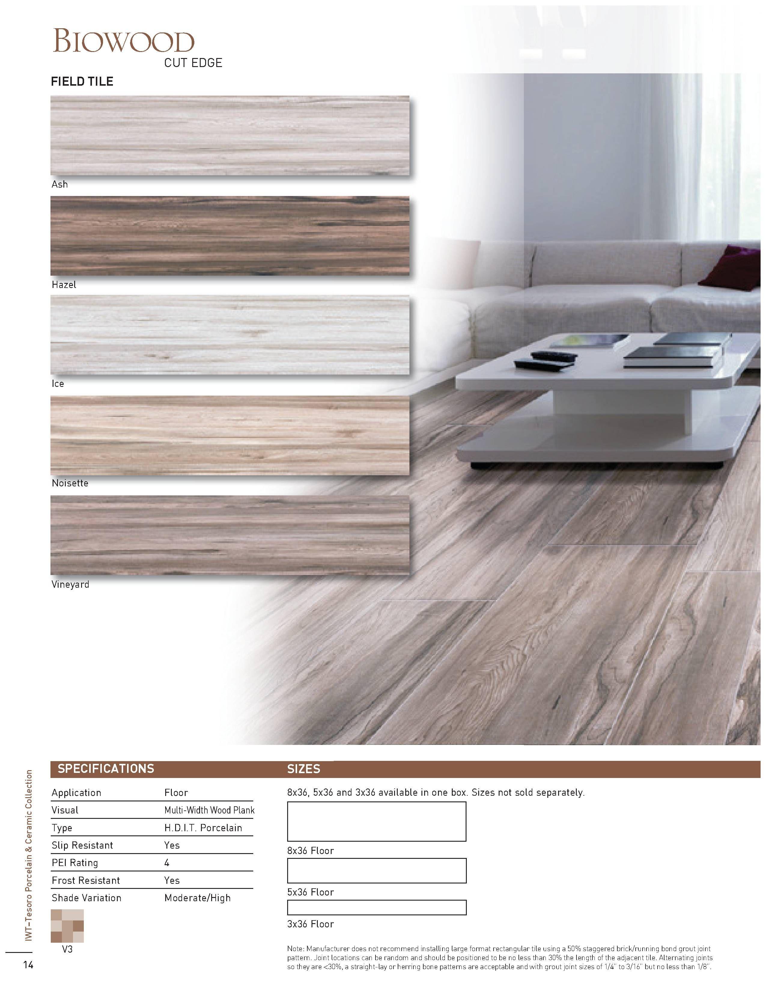 tesoro biowood brochure flooring