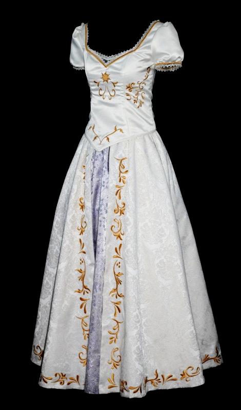 Tangled Wedding Dress, Rapunzel cosplay.. Not that I'm getting