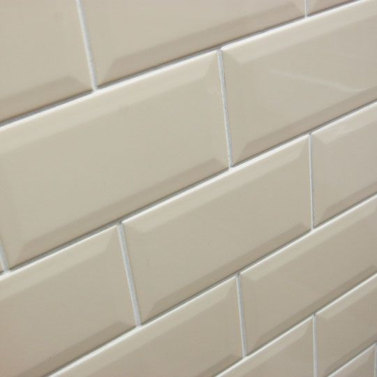 10x20cm Bevel Brick Cream Tile By Johnson Tiles Ceramic Planet Brick Backsplash Kitchen Kitchen Wall Tiles Cream Tile